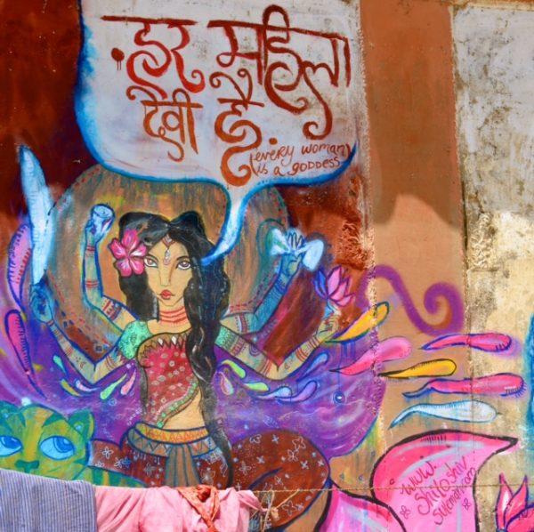 Omkara-Varanasi Street Art