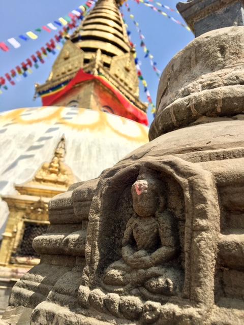 Bouddha au Népal