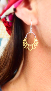 Boucles lotus or